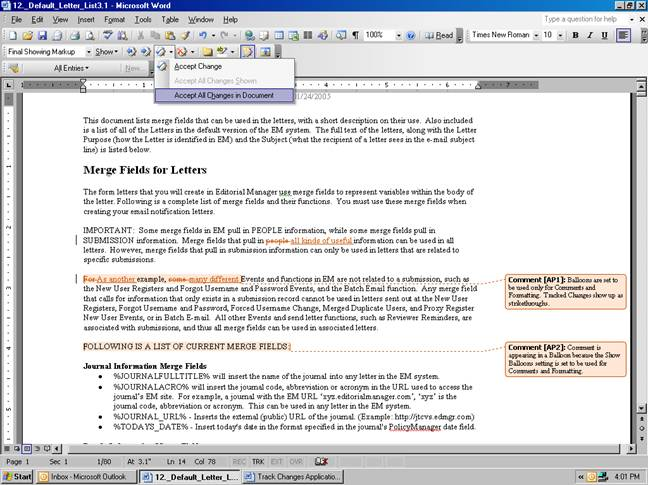 What can Microsoft Word be used for?